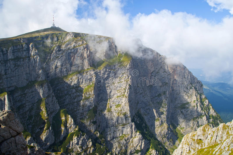 Vertical ścienna góra fotografia royalty free