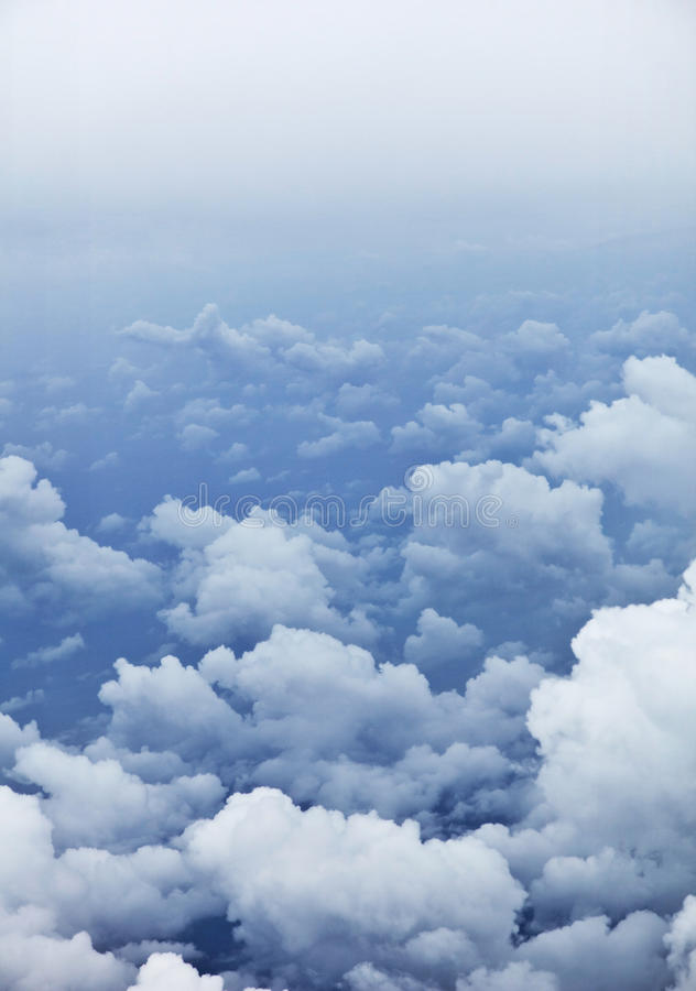 Download Vertical Background - Photo Of Clouds From Aerial Stock Image - Image: 20561685