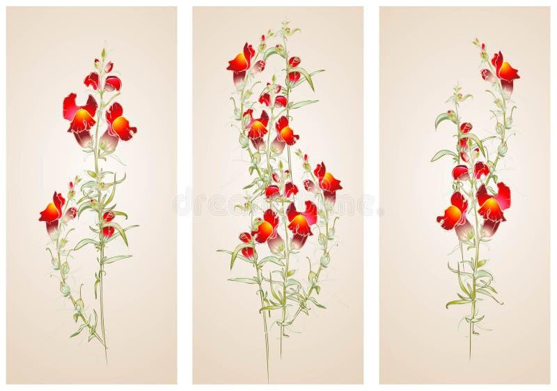 Download Vertical  Banner Floral Elements. Stock Vector - Image: 31771341