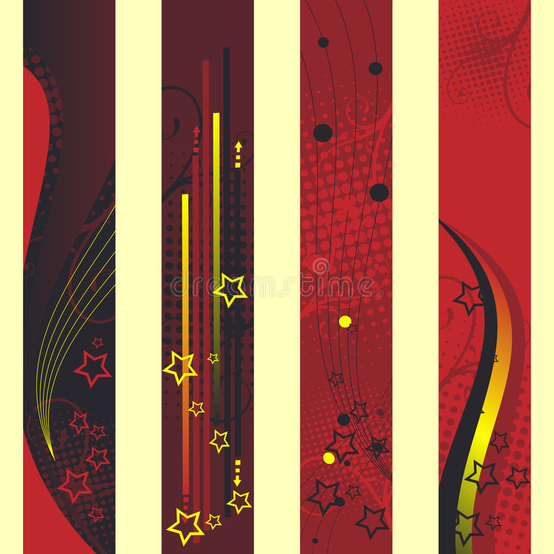 Download Vertical banners stock vector. Image of card, christmas - 6406423