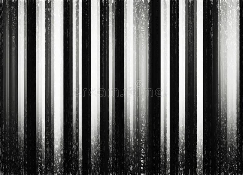 Vertical black and white forest thicket background royalty free stock images