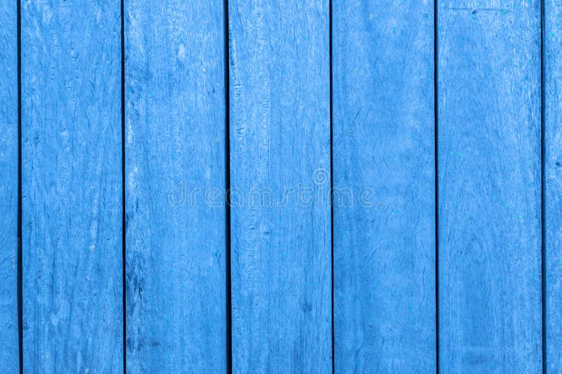 Vertical Blue Wooden Bars Texture Background. Image of vertical wooden bars texture with blue color for abstract background, banner, web, template or poster royalty free stock photos