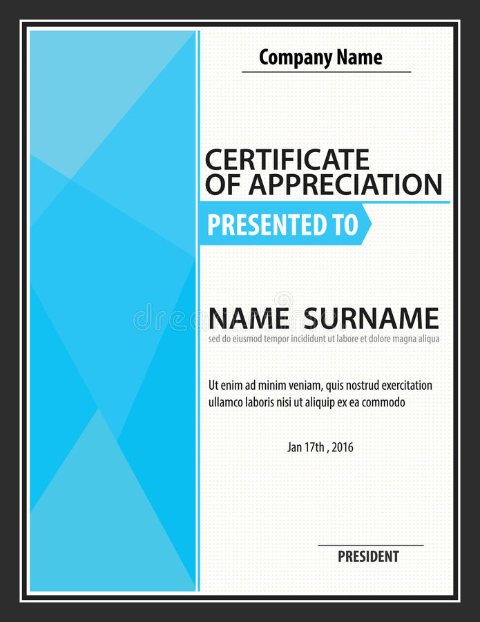 Vertical certificate templatediplomaletter size vector stock download vertical certificate templatediplomaletter size vector stock vector illustration of yadclub Gallery