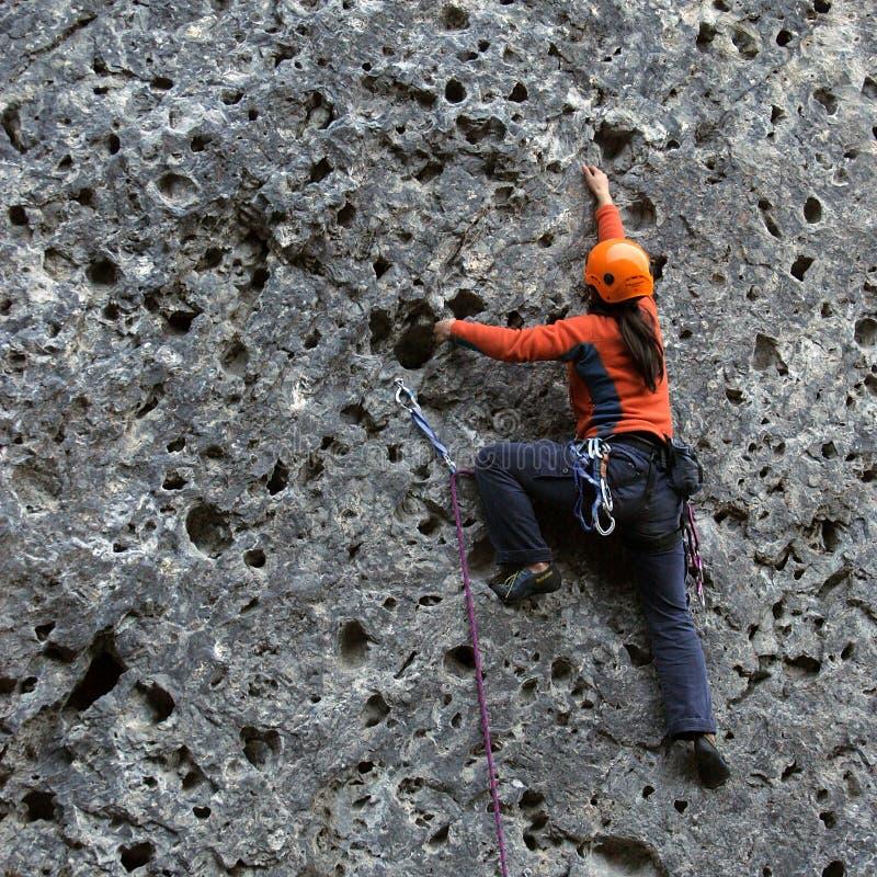 Vertical climbing stock photos