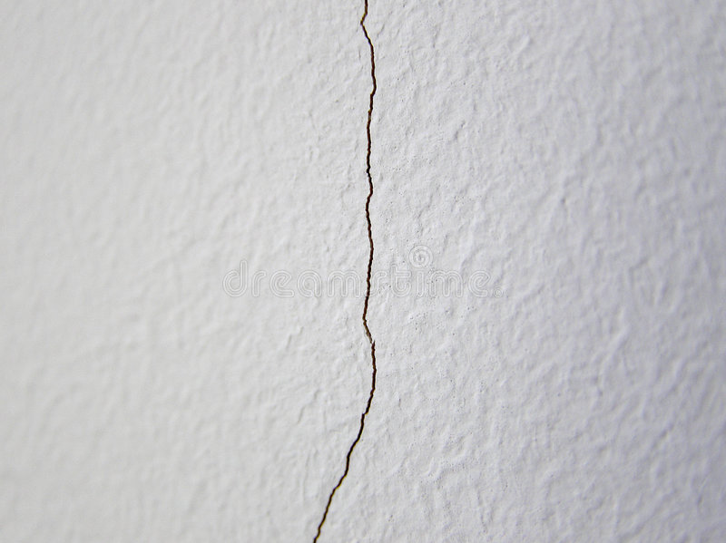 Download Vertical crack stock photo. Image of single, construction - 2104792