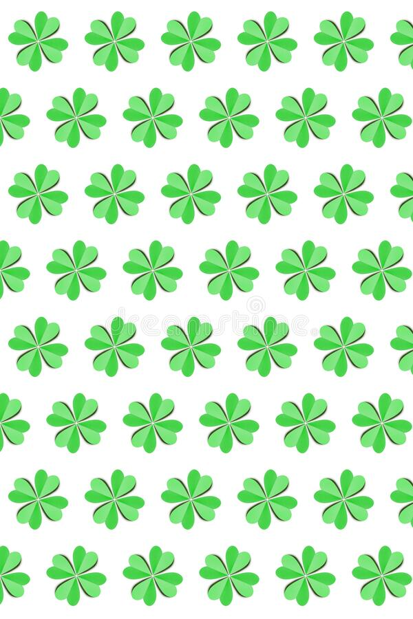 Vertical creative St.Patrick `s Day holiday background . vector illustration
