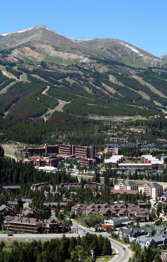 Vertical de Breckenridge, Colorado imagenes de archivo