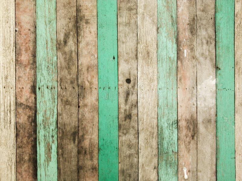 Vertical de madeira velho do painel do vintage foto de stock