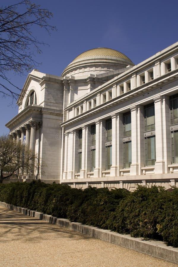 Vertical del edificio de Smithsonian foto de archivo