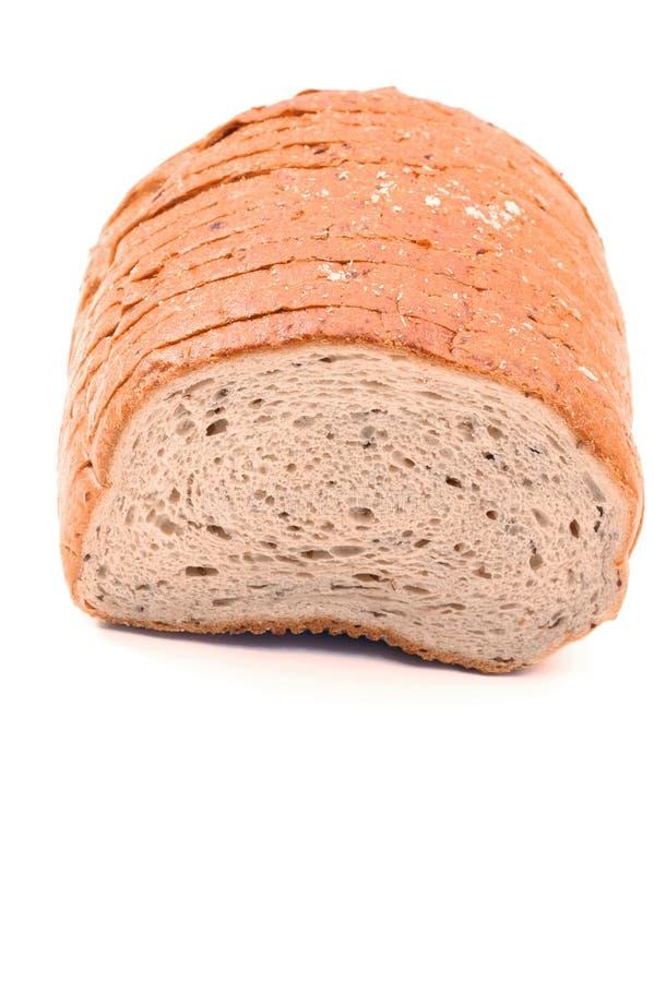 Vertical do pão de Rye foto de stock