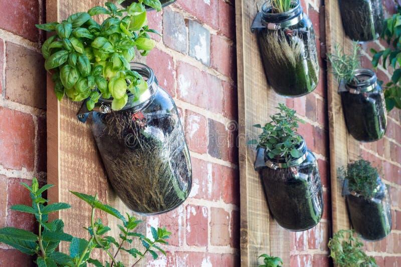 Vertical garden royalty free stock photography