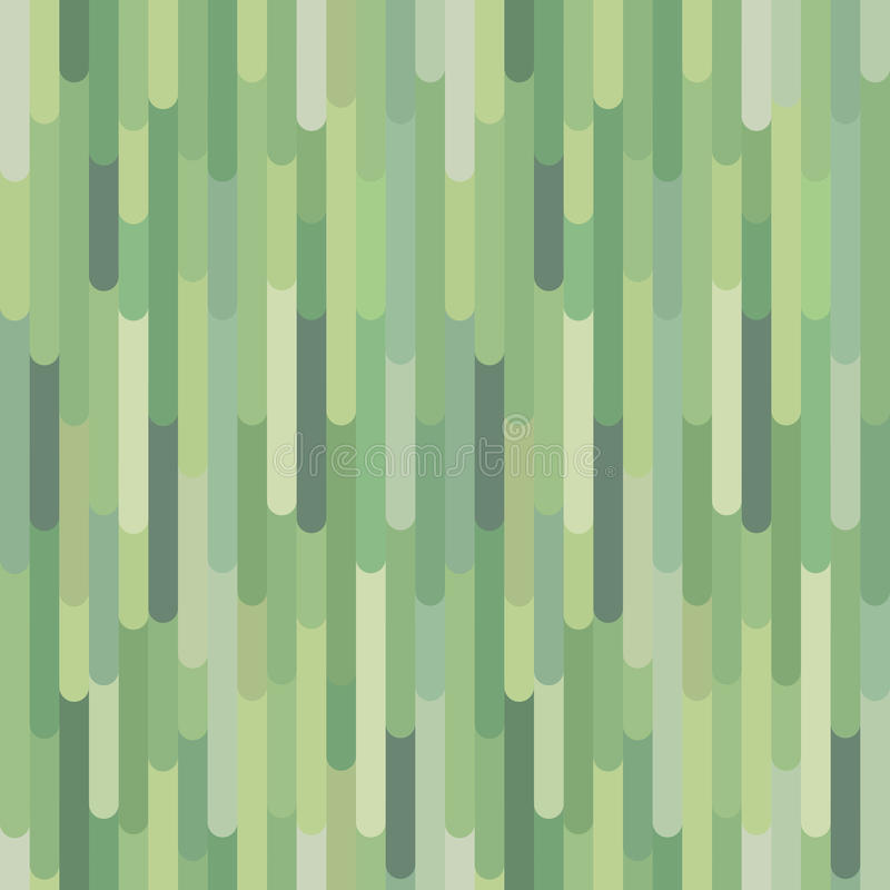Vertical green organic stripes, vector seamless pattern vector illustration