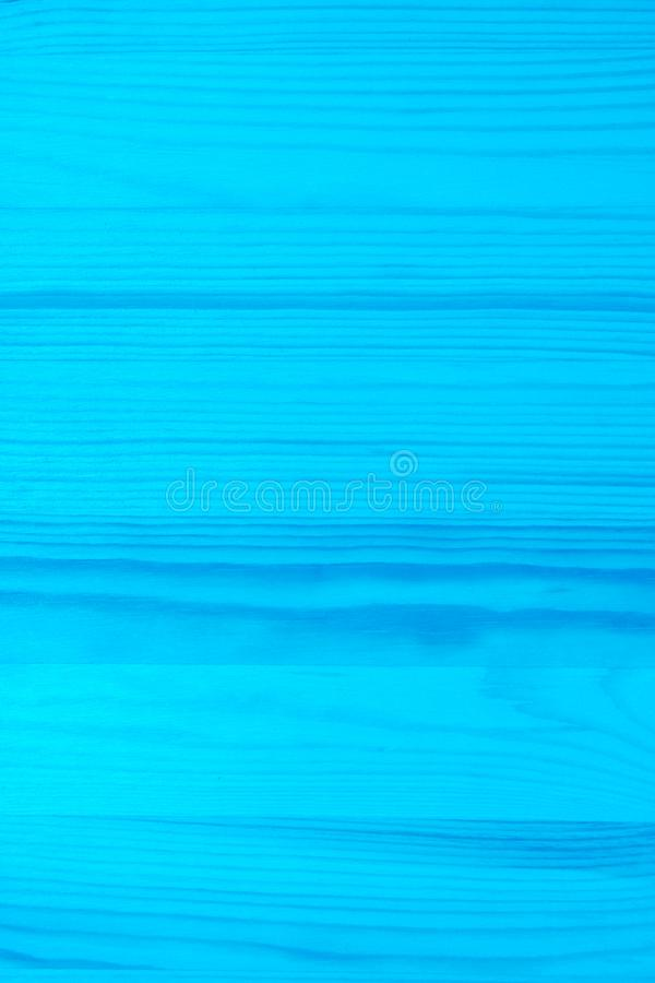 Vertical Image of Horizontal Pattern of Turquoise Blue Colored Wood Plank Surface for Background stock photo