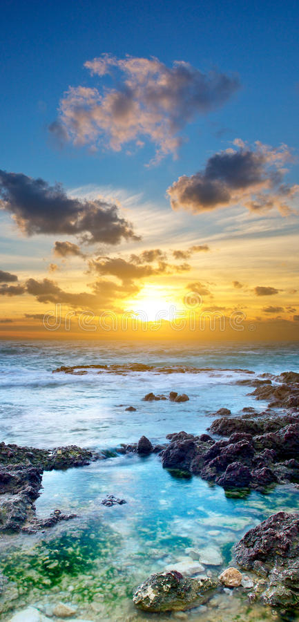 Download Vertical landscape stock image. Image of coast, nature - 24983477