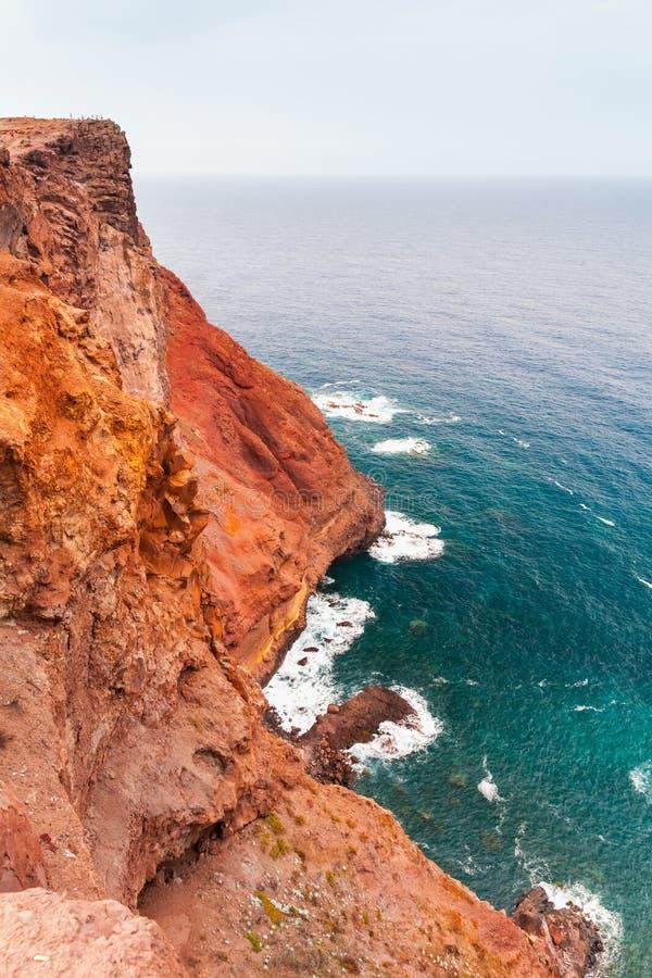 Rocks of Ponta de Sao Lourenco stock photo