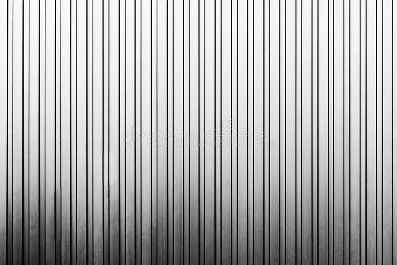 Line Texture Wall : The vertical line texture of metal sheet wall stock image
