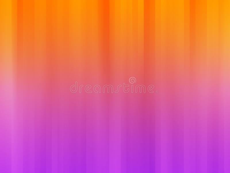 Bright Purple-Orange Vertical Motion Stripes Background royalty free stock photo