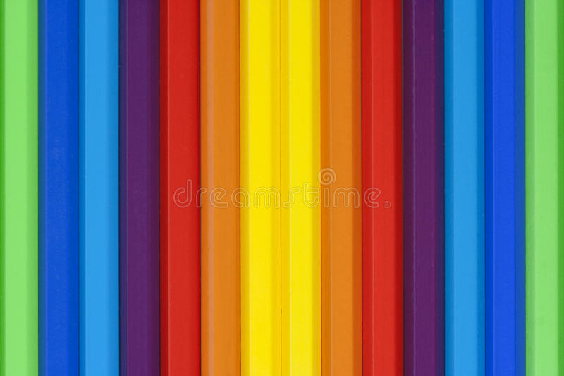 Download Vertical Multicolored Pencils Stock Photo - Image: 28907012
