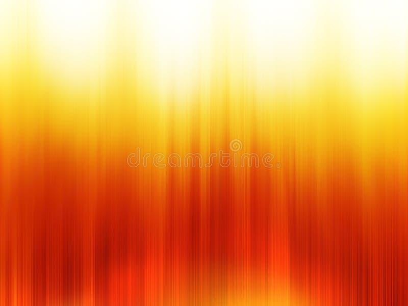 Vertical orange blurred bokeh with light leak background. Hd vector illustration