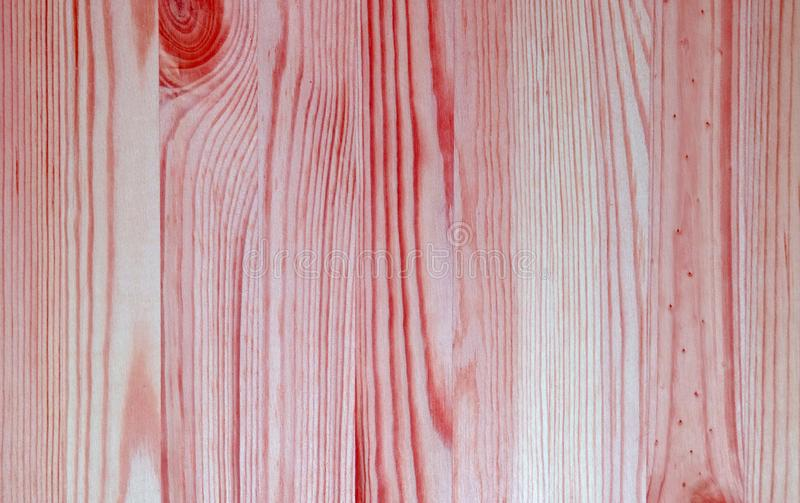 Vertical Pattern of Bright Red with Pink Colored Wooden Wall Surface for Background. Natural Wood Texture abstract backdrop banner board closeup copy design royalty free stock image