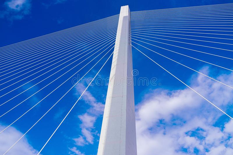 Vertical Pillar Of Suspension Bridge Free Public Domain Cc0 Image