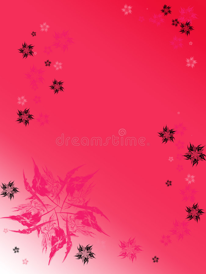 Vertical pink background with royalty free illustration