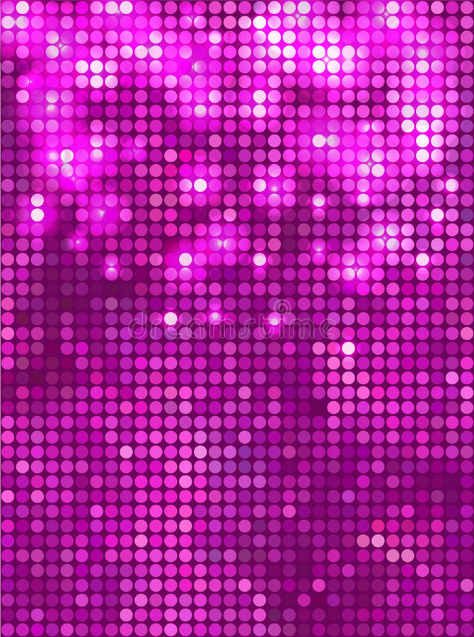 Vertical Pink  Mosaic Royalty Free Stock Photography