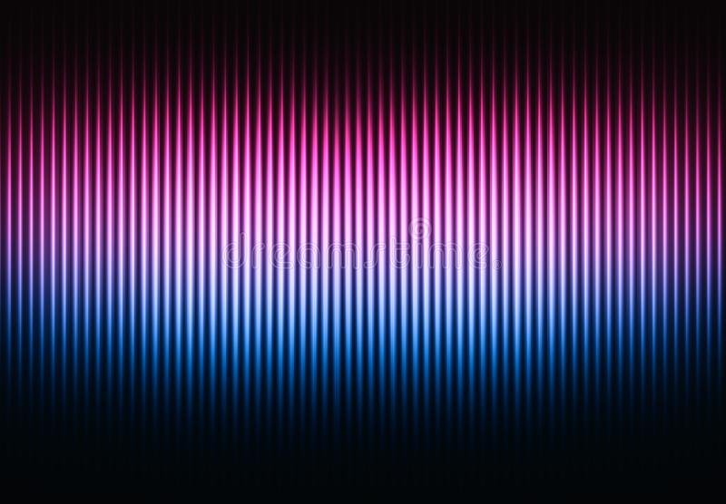 Vertical pink and purple curtains background stock photo