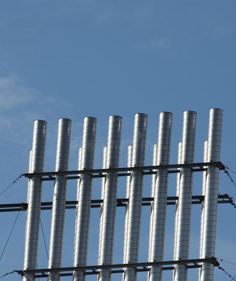 Download Vertical Pipes Royalty Free Stock Photo - Image: 21125355