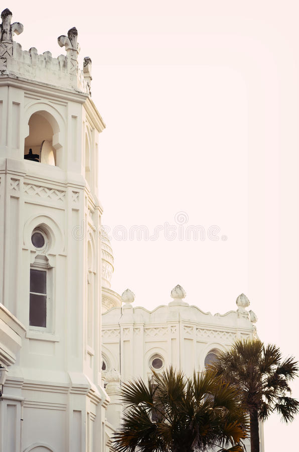 Free Vertical: Section Of Historic Church On Galveston Island, Texas Stock Images - 29261584