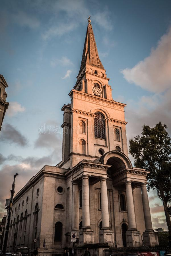 Shoreditch Church: Shoreditch, London Editorial Photography. Image Of London