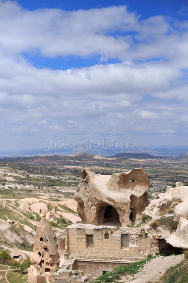 Landscape of Cappadocia stock images