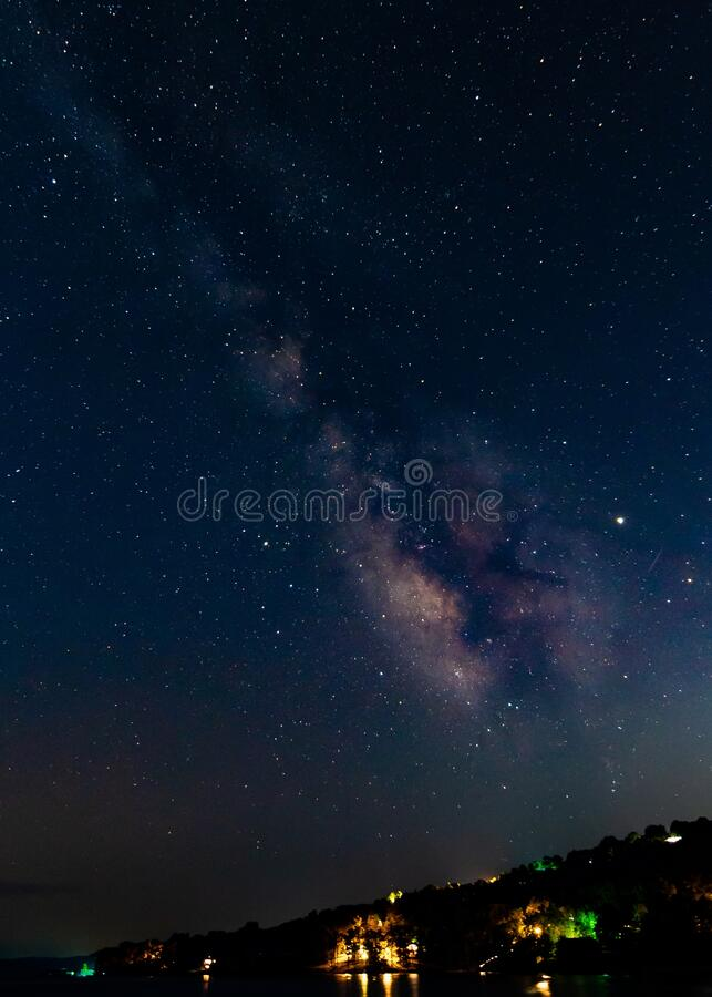 vertical shot milky way galaxy great cool background wallpaper vertical shot milky way galaxy great 169900519
