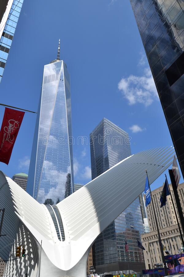 Free Vertical Shot Of A 9/11 Memorial In New York, USA Stock Photography - 177550522