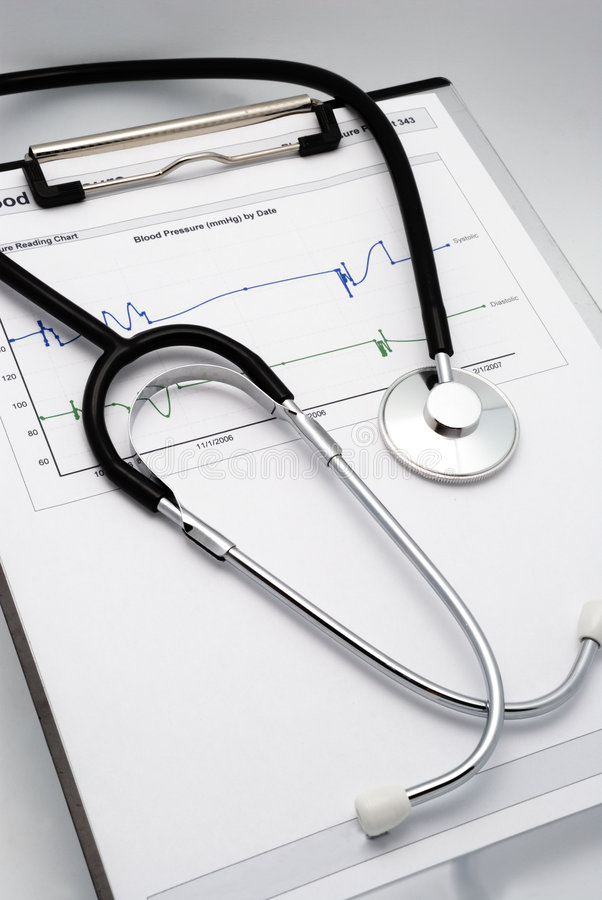 Free Vertical Shot Of Stethoscope Stock Images - 3035934