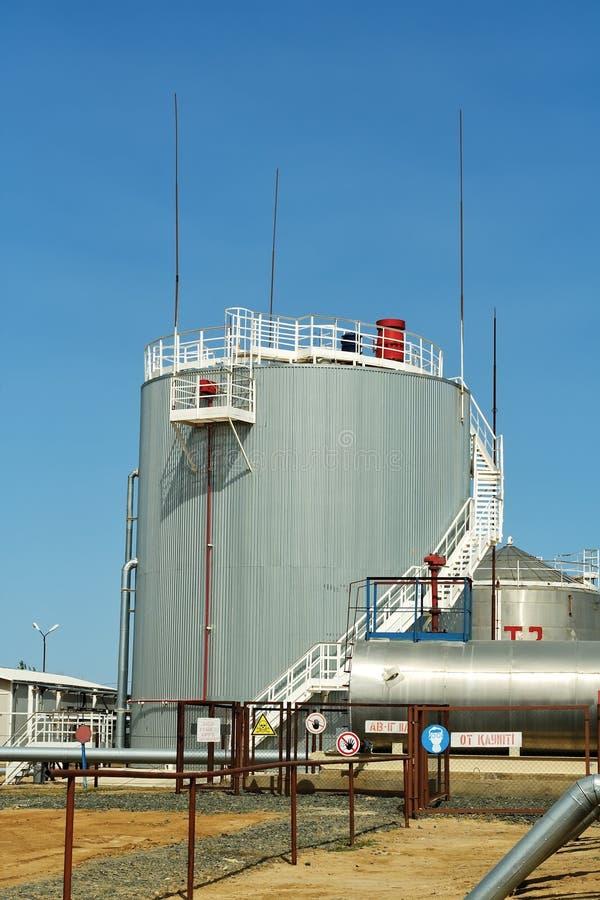 Vertical Steel Reservoir Stock Photos