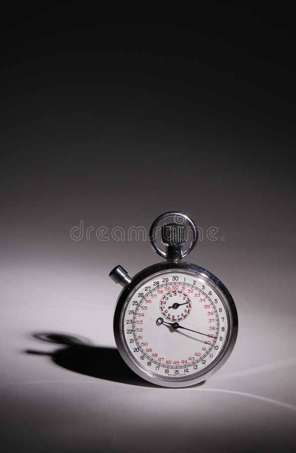 Vertical Stop Watch Royalty Free Stock Photography