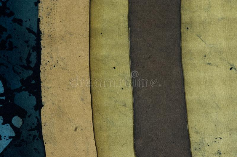 Vertical stripes, fragment, hot batik, background texture royalty free stock photography