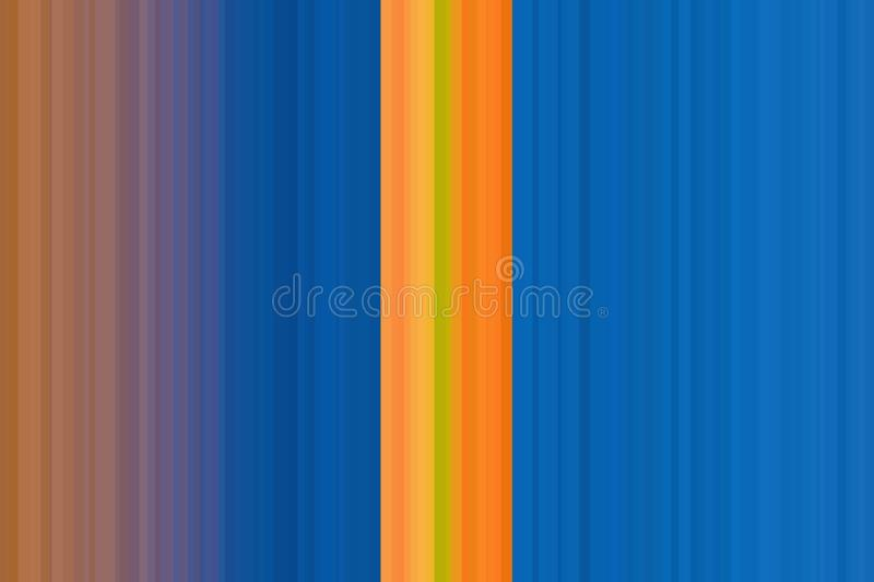 Vertical strips colorful background retro design, vintage. Colorful seamless stripes pattern. Abstract illustration background. St. Ylish modern trend colors royalty free illustration