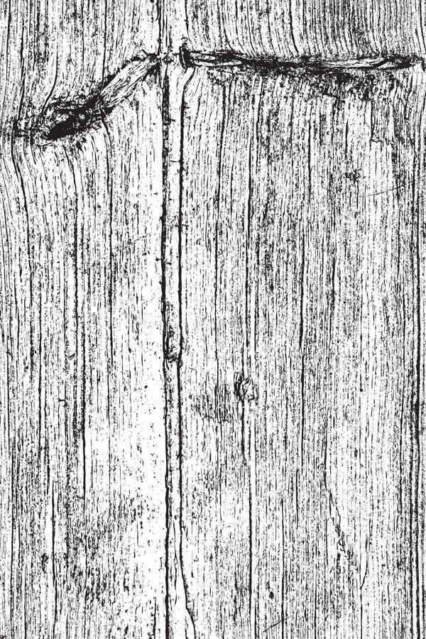 Vertical Suchy drewno royalty ilustracja
