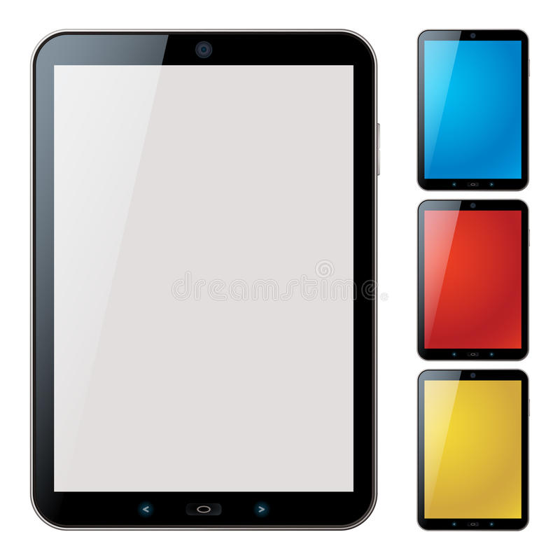 Download Vertical Tablet Pc Set - Isolated Vector Stock Vector - Image: 23660639