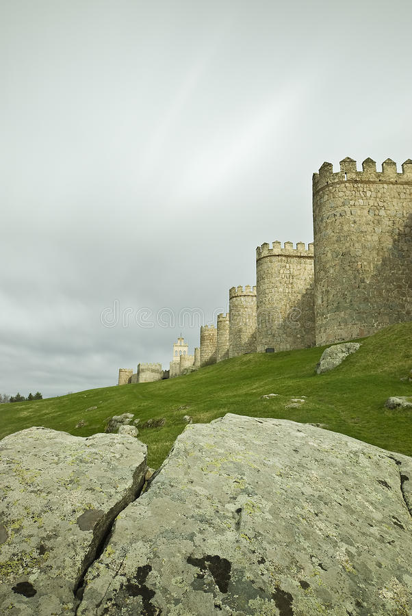 Download Vertical View From Avila Walls. Stock Images - Image: 19895294