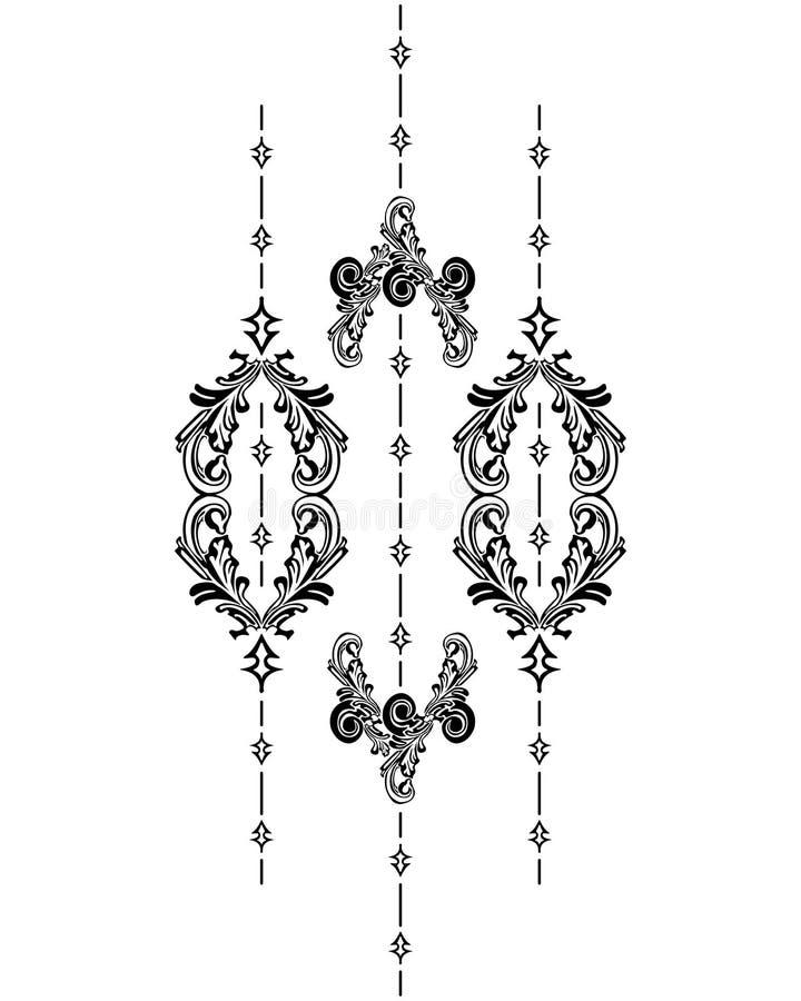 Download Vertical Vintage stock vector. Image of festive, symmetry - 7290437