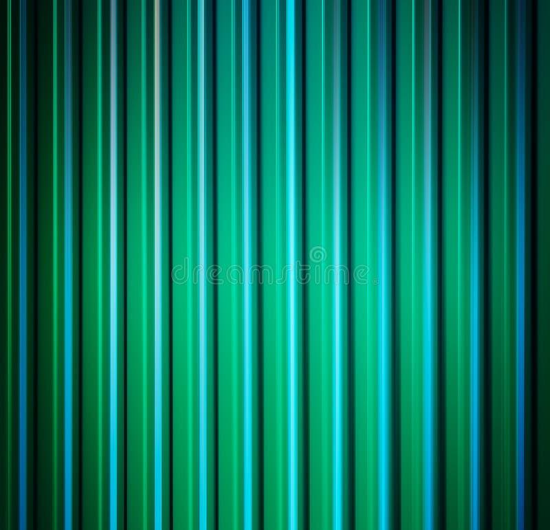 Vertical vivid aqua green lines abstraction vector illustration