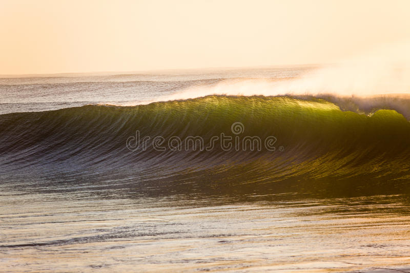 Vertical Wave Backlight Color Stock Photo