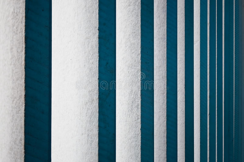 Vertical white wooden blinds stock images