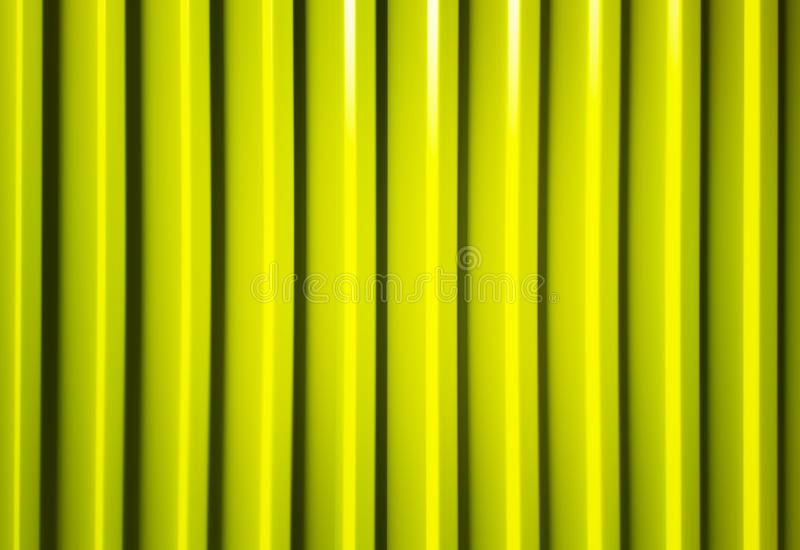 Vertical yellow modern lines background backdrop. Orientation vivid vibrant bright color spacedrone808 rich composition design concept element object shape royalty free stock images