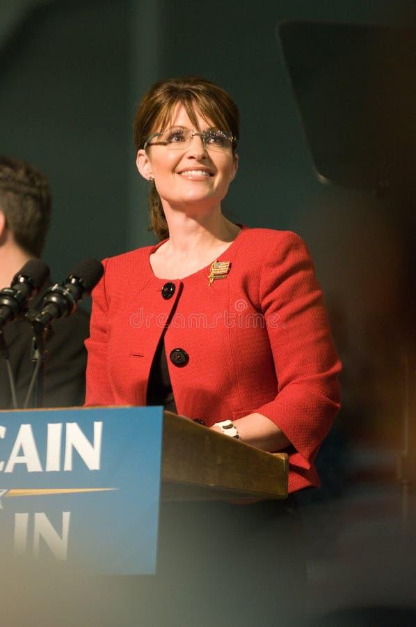 Verticale 1 de Sarah Palin du Gouverneur photo libre de droits