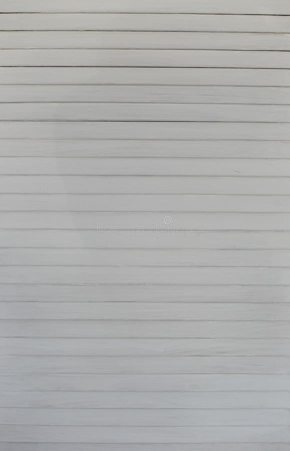 Verticale blanche en bois de fond de conception de décor photos libres de droits