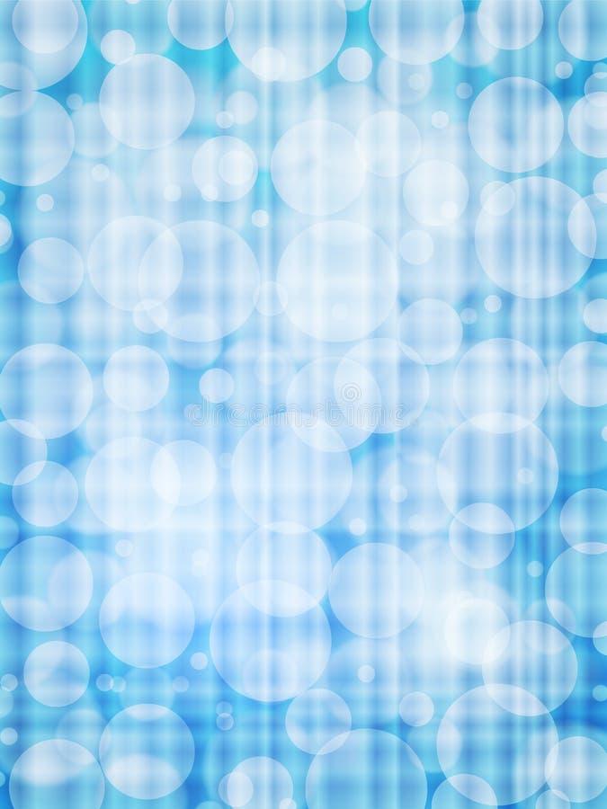 Verticale blu del fondo dell'estratto di defocus royalty illustrazione gratis